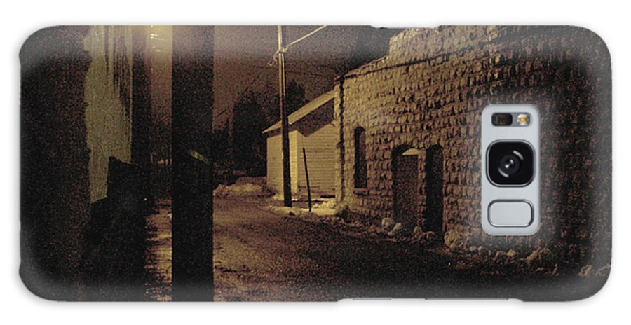 Alley Galaxy Case featuring the photograph Dark Alley by Tim Nyberg