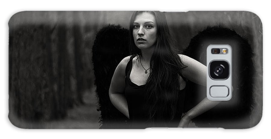 Dark Angel Galaxy S8 Case featuring the photograph Dark Angel by Brian Hughes