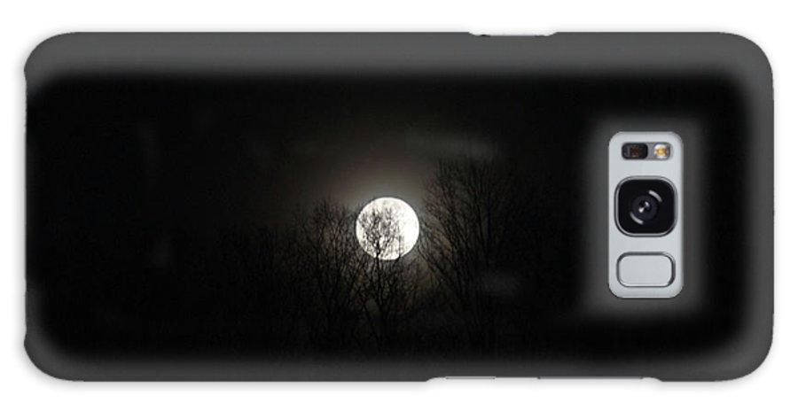 Dark Galaxy S8 Case featuring the photograph Dark Moon by Douglas Barnett