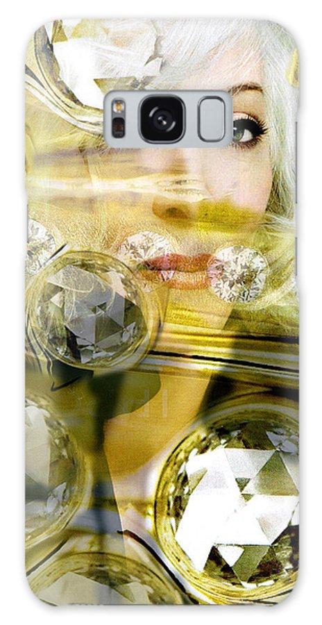 Women Galaxy S8 Case featuring the digital art Darling Diamonds by Seth Weaver