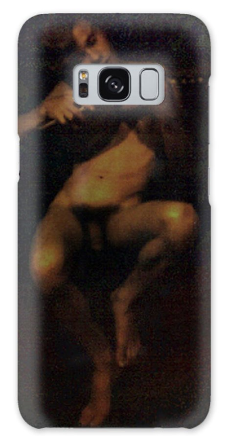 Male Galaxy Case featuring the painting David.06 by Terrell Gates