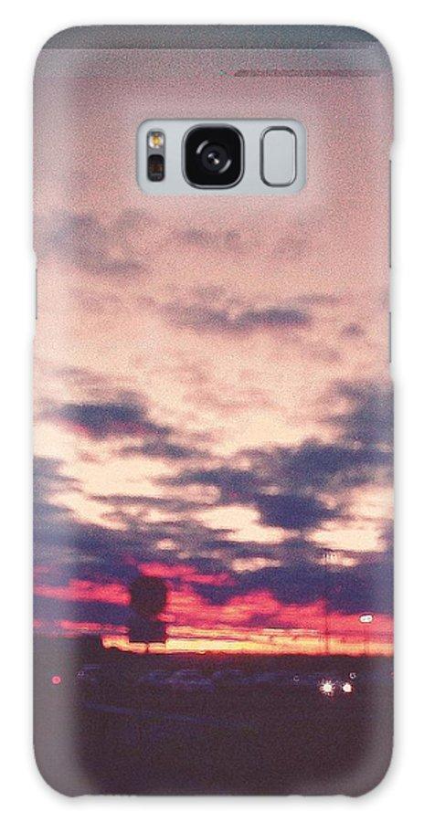 Unclear Vasquez Galaxy S8 Case featuring the photograph Dawn by Aunalea Vasquez