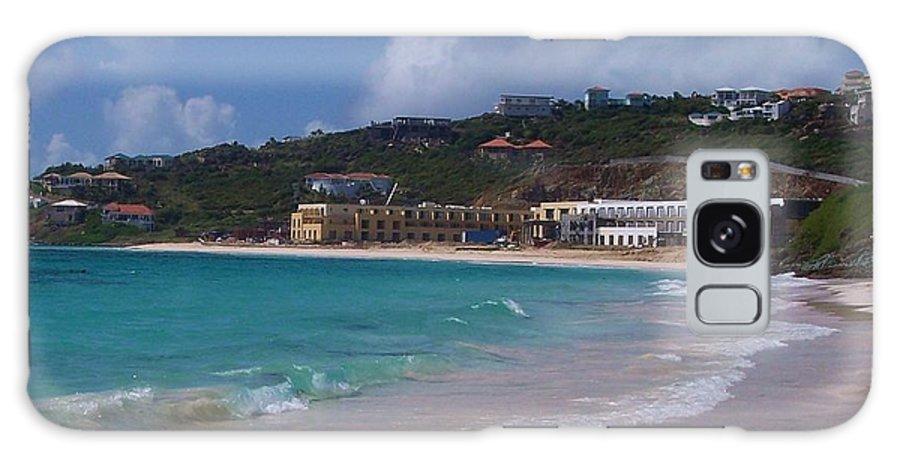Dawn Beach Galaxy S8 Case featuring the photograph Dawn Beach by Debbi Granruth