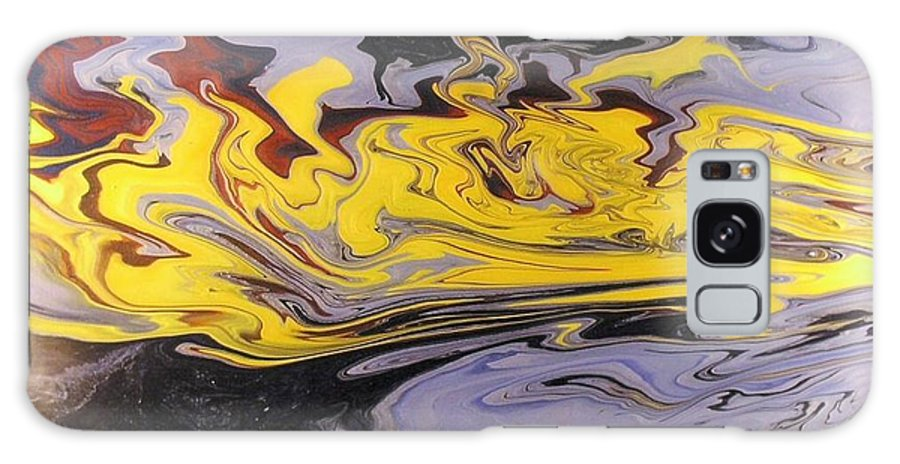 Acrylic Galaxy S8 Case featuring the painting Dawn Light by Patrick Mock