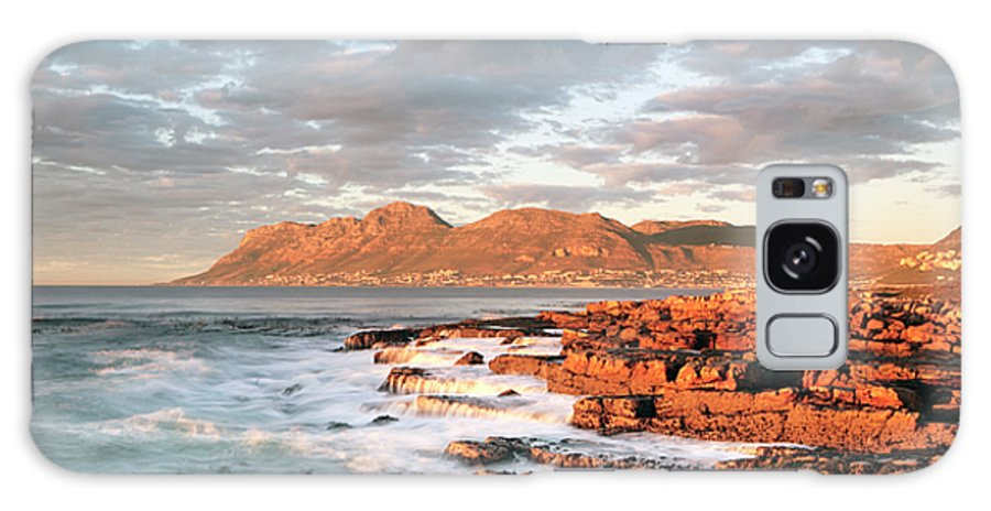 Dawn Galaxy S8 Case featuring the photograph Dawn Over Simons Town South Africa by Neil Overy