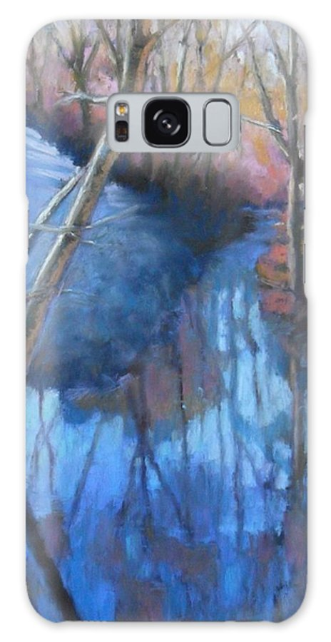 Sunrise Galaxy S8 Case featuring the pastel Daybreak by Julie Mayser