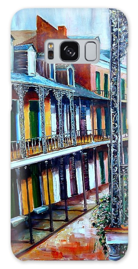 New Orleans Galaxy S8 Case featuring the painting Daybreak On St. Ann Street by Diane Millsap