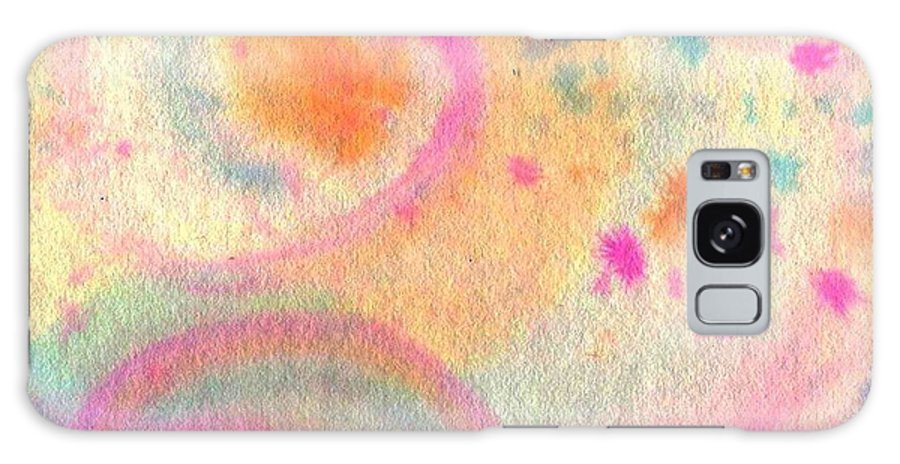 Watercolor Galaxy Case featuring the painting Dayscape by Chandelle Hazen