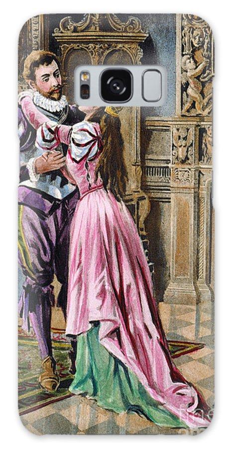 1539 Galaxy S8 Case featuring the photograph De Soto & Isabella, 1539 by Granger