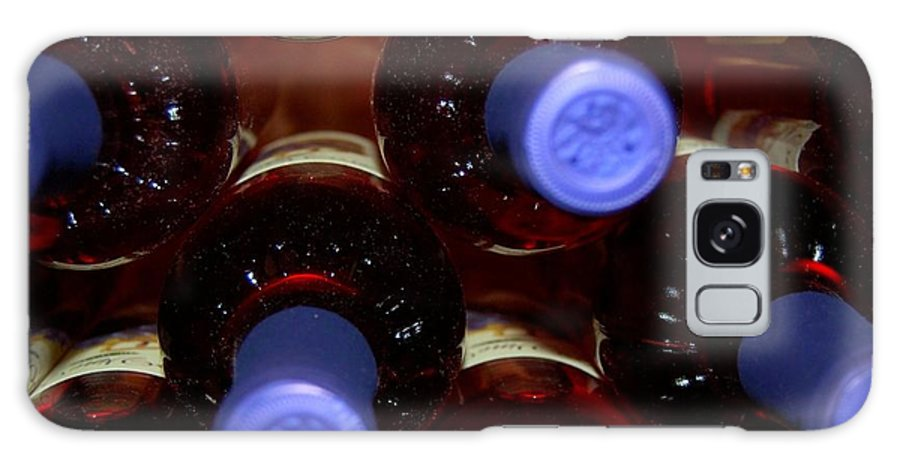 Wine Galaxy S8 Case featuring the photograph De-vine Wine by Debbi Granruth