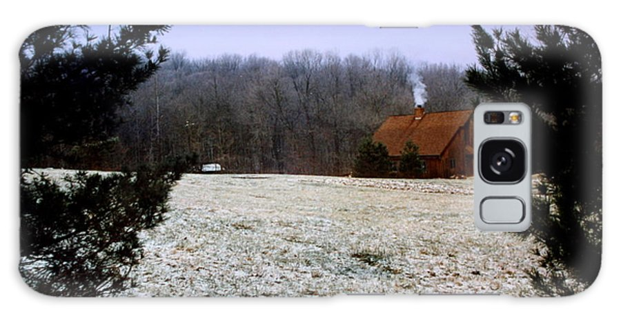 December Galaxy S8 Case featuring the photograph December Evening by Diane Merkle