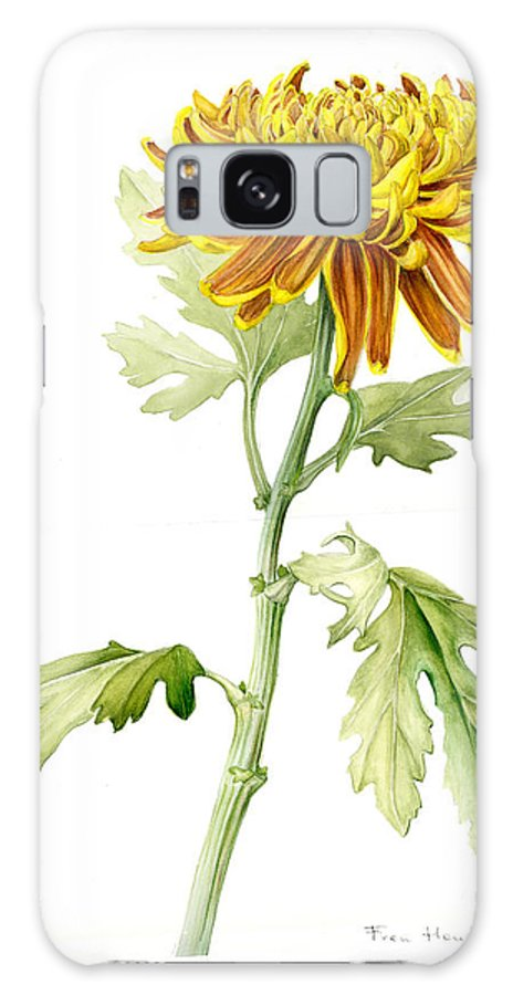 Deco Mum Galaxy Case featuring the painting Deco Mum by Fran Henig
