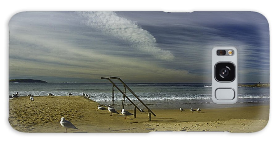 Beach Galaxy S8 Case featuring the photograph Dee Why Beach Sydney by Sheila Smart Fine Art Photography