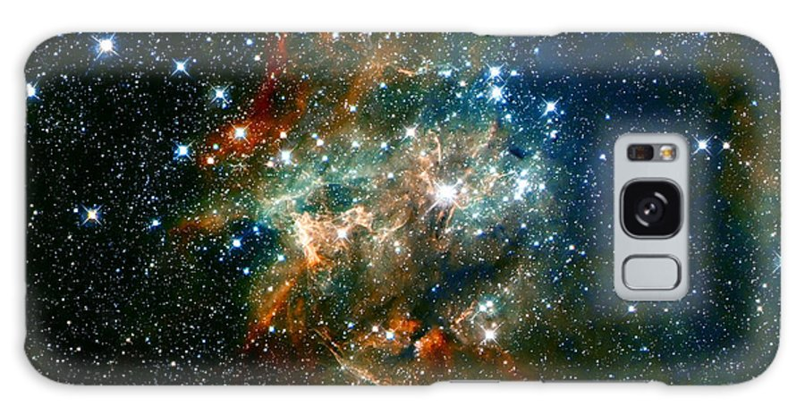 Nebula Galaxy S8 Case featuring the photograph Deep Space Star Cluster by Jennifer Rondinelli Reilly - Fine Art Photography