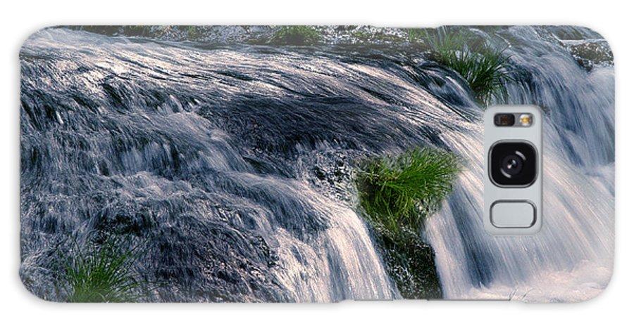 Creek Galaxy Case featuring the photograph Deer Creek 01 by Peter Piatt