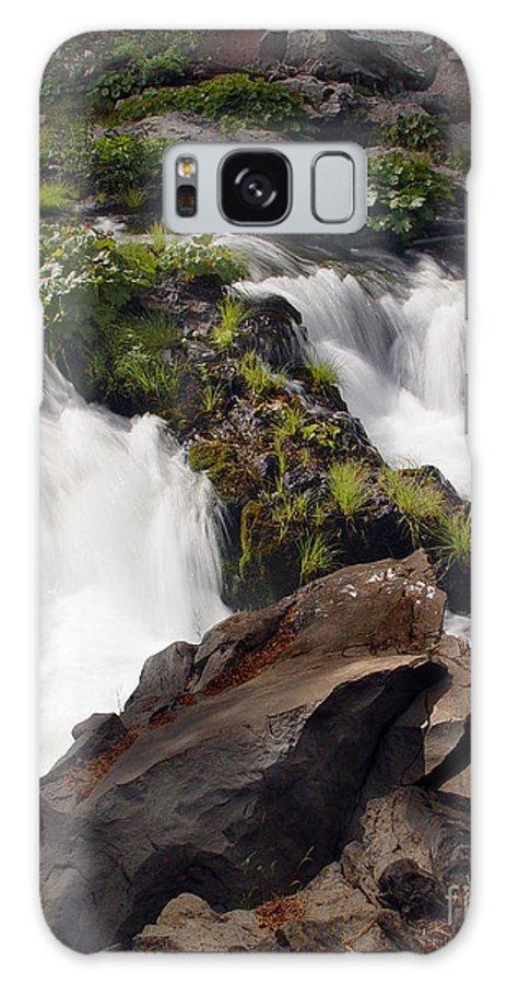 Creek Galaxy S8 Case featuring the photograph Deer Creek 12 by Peter Piatt