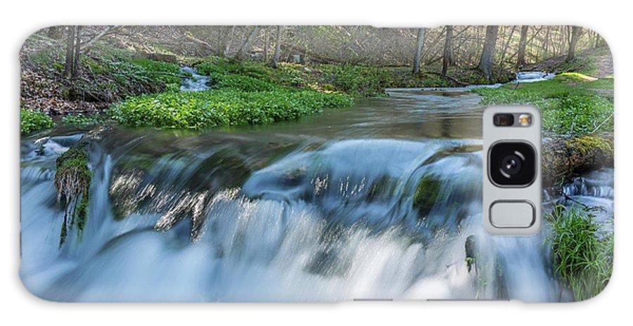 River Galaxy S8 Case featuring the photograph Deer Creek Ia 7 by John Brueske