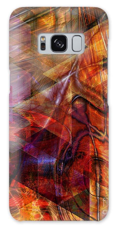 Deguello Sunrise Galaxy S8 Case featuring the digital art Deguello Sunrise by John Beck