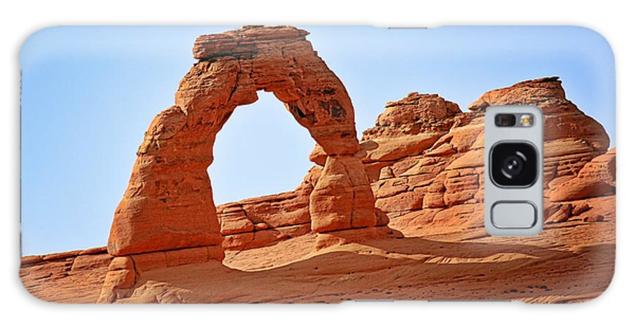 Landscape Galaxy Case featuring the photograph Delicate Arch The Arches National Park Utah by Christine Till