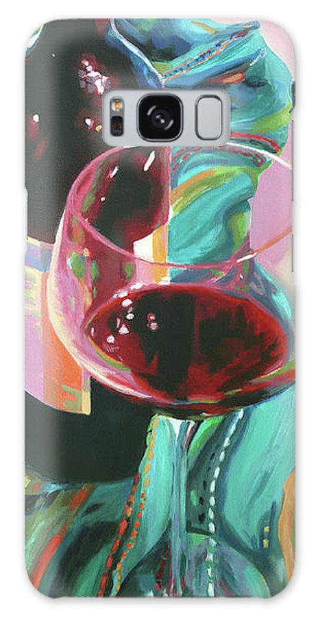 Still Life Galaxy S8 Case featuring the painting Delight by Trina Teele