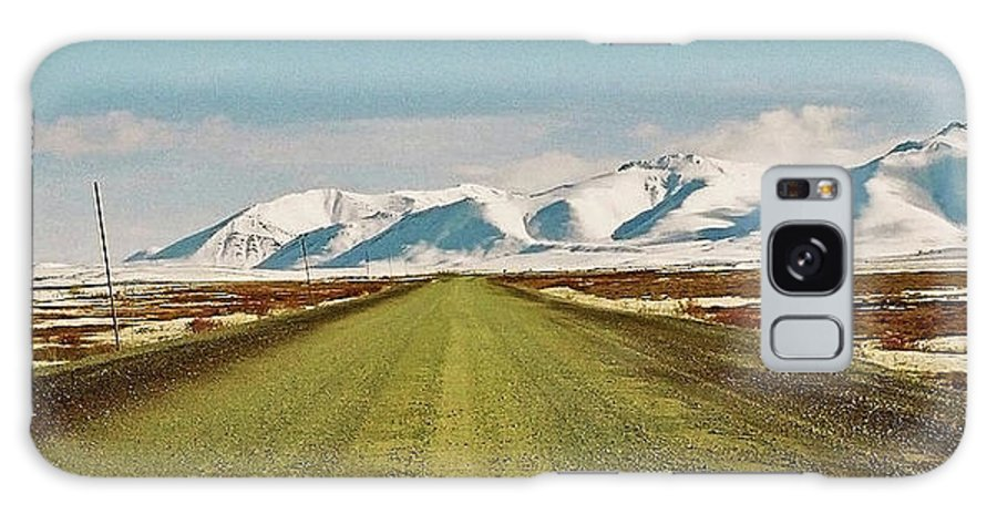 North America Galaxy S8 Case featuring the photograph Dempster Highway - Yukon by Juergen Weiss