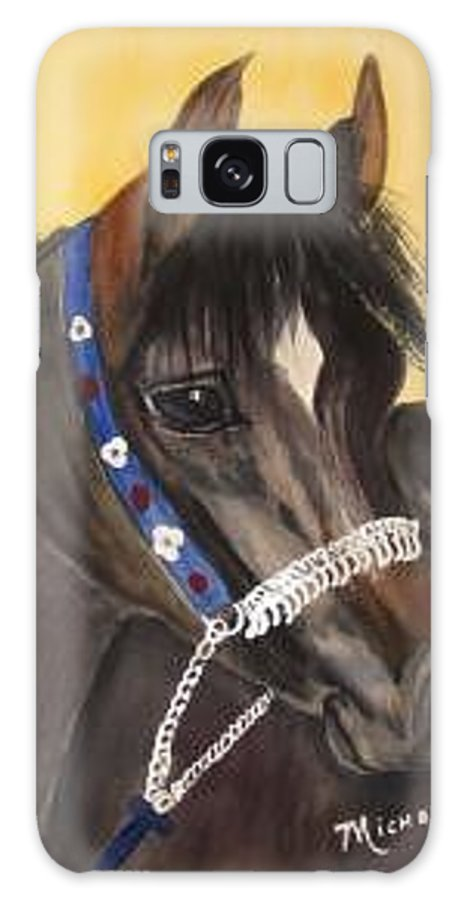 Arabian Horse Galaxy Case featuring the painting Desert Dream by Michele Turney