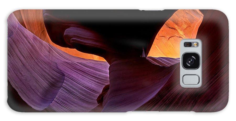Eye Galaxy S8 Case featuring the photograph Desert Eye by Mike Dawson
