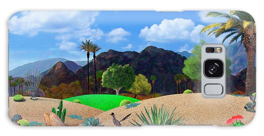 Desert Galaxy Case featuring the digital art Desert Splendor by Snake Jagger