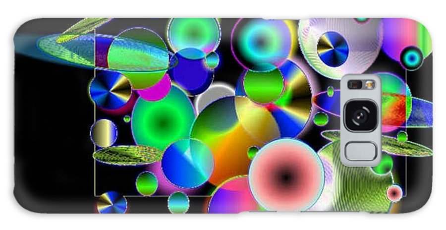 Concept Art Galaxy Case featuring the digital art Designers New Drum Kit by Brenda L Spencer