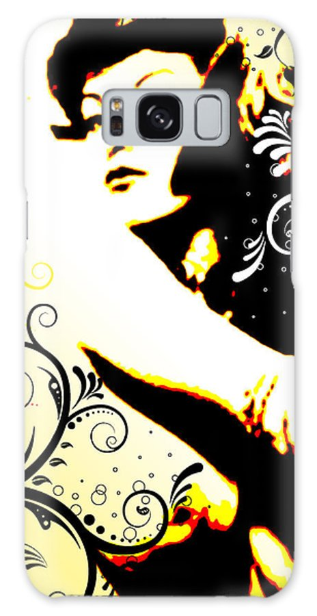 Nostalgic Seduction Galaxy S8 Case featuring the digital art Desire by Chris Andruskiewicz