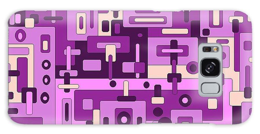 Digital Artwork Galaxy S8 Case featuring the digital art Dessert Sunset by Jordana Sands