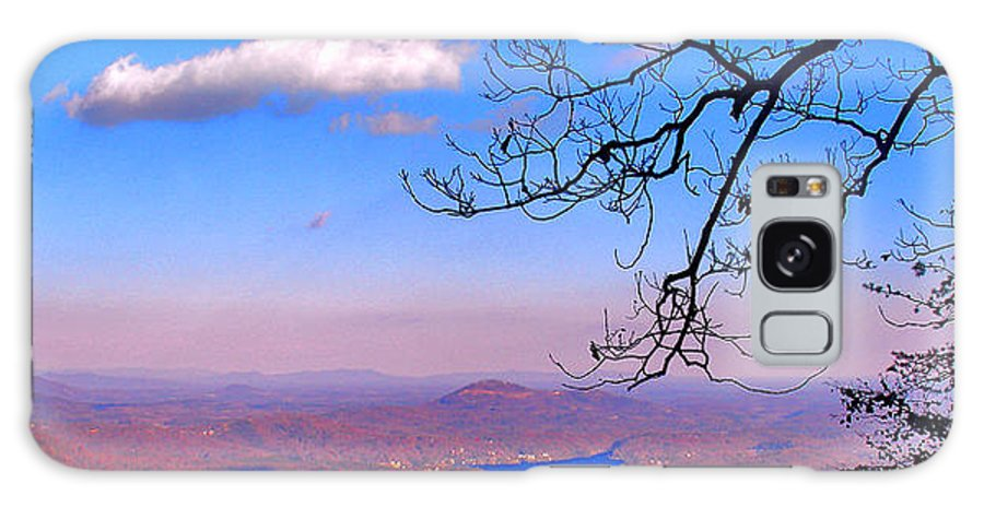 Landscape Galaxy Case featuring the photograph Detail From Reaching For A Cloud by Steve Karol