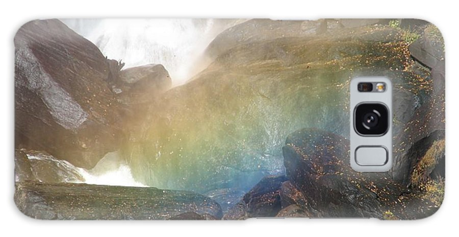 Devil's Fork Galaxy S8 Case featuring the photograph Devil's Rainbow by Kelly Mezzapelle