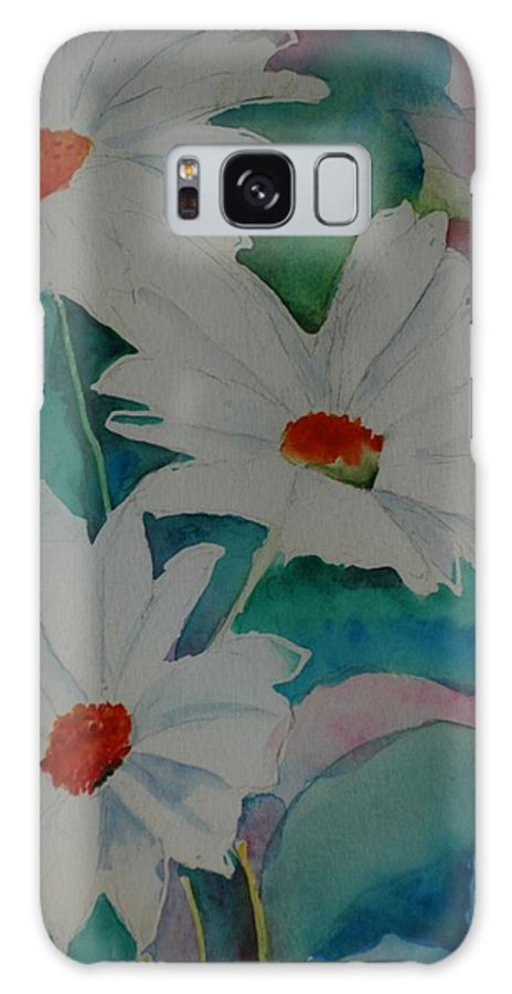 Daisies Galaxy S8 Case featuring the painting Devin's Dasies by Melinda Etzold