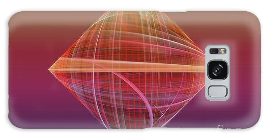 Fractal Galaxy S8 Case featuring the photograph Diamond Ripple by Deborah Benoit