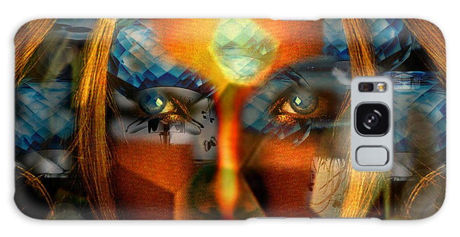 Lady Galaxy Case featuring the photograph Diamonella by Seth Weaver
