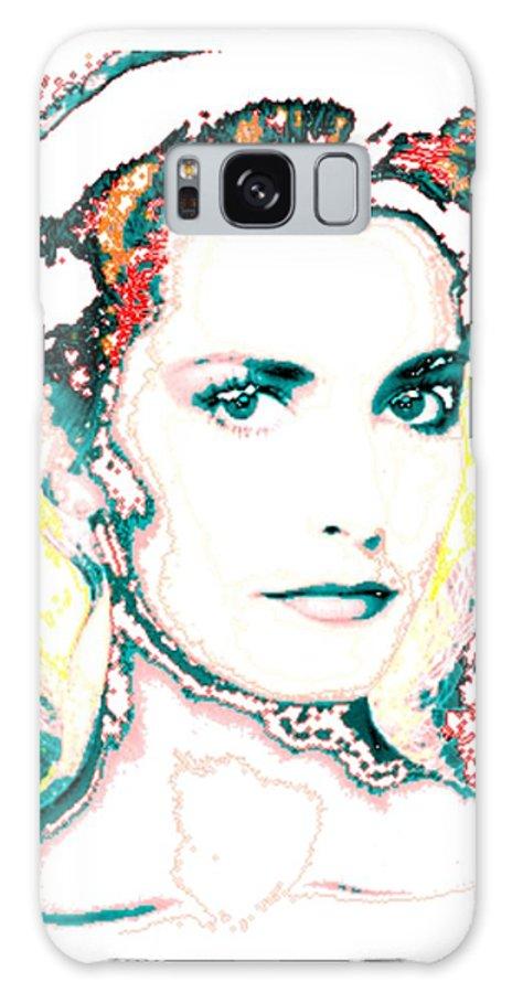 Digital Galaxy S8 Case featuring the digital art Digital Self Portrait by Kathleen Sepulveda