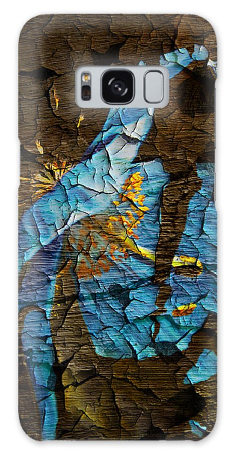 Flower Galaxy S8 Case featuring the digital art Diminishing Poppy by Svetlana Sewell