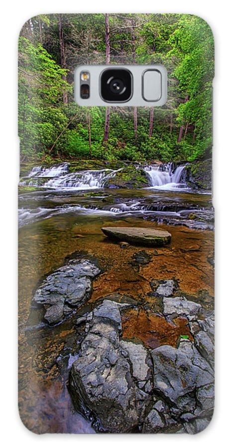 Dingman's Falls Galaxy S8 Case featuring the photograph Dingmans Creek by Rick Berk