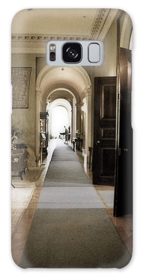 Mansions Galaxy S8 Case featuring the photograph Dinner Is Serve4d by Karen W Meyer