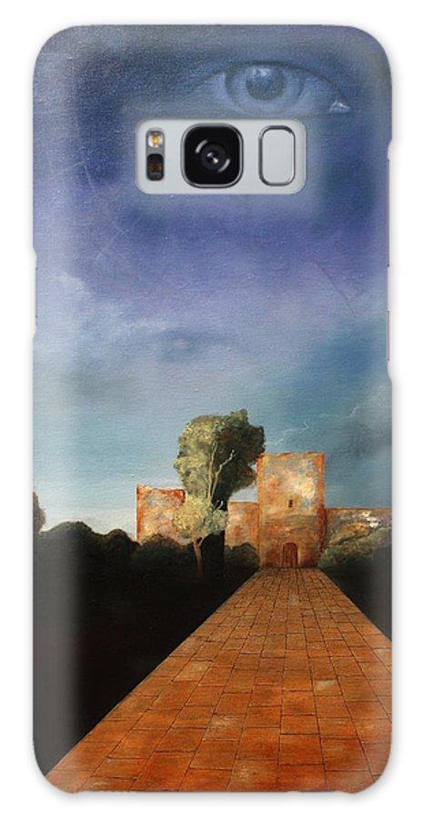 Disclosure Of The Hidden Galaxy S8 Case featuring the painting Disclosure Of The Hidden by Darko Topalski