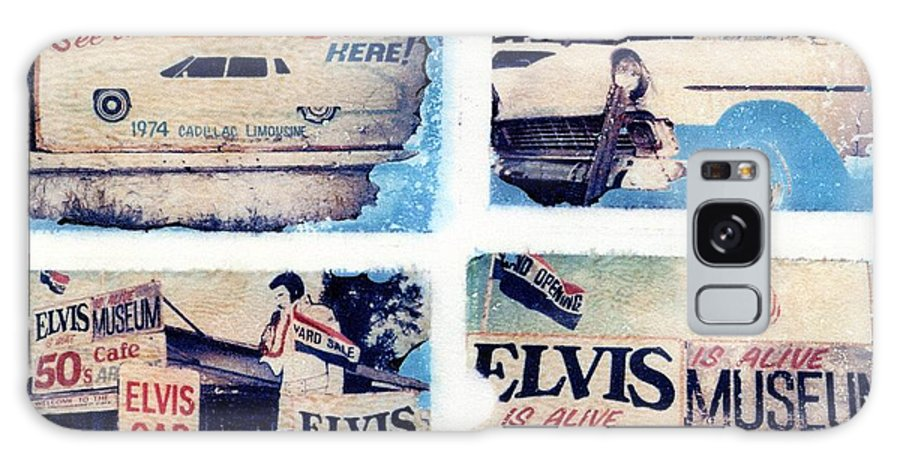 Elvis Galaxy S8 Case featuring the photograph Disgraceland by Jane Linders