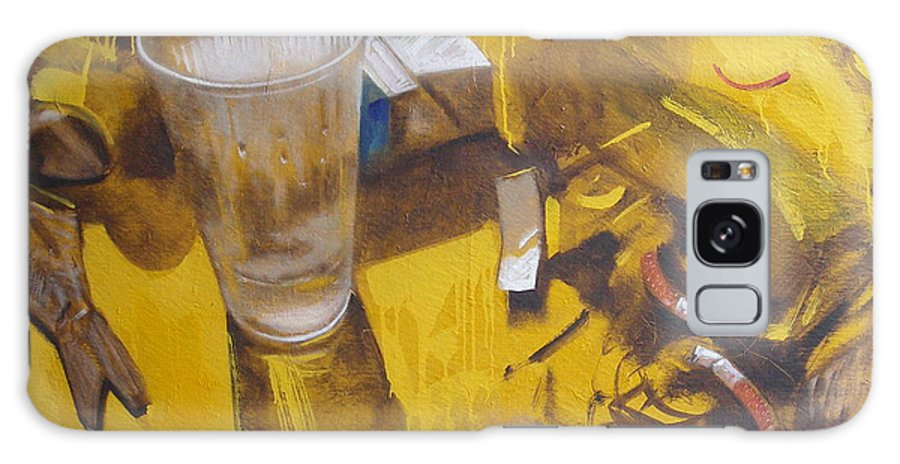 Disposable Galaxy Case featuring the painting Disposable by Sergey Ignatenko
