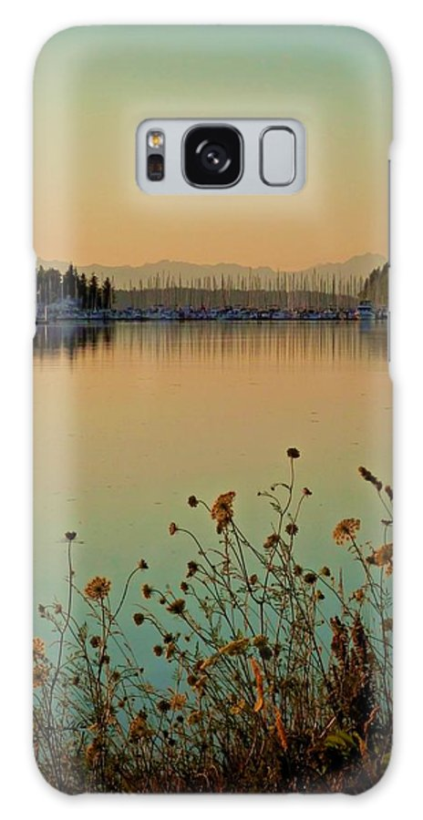 Sailboat Galaxy S8 Case featuring the photograph Distant Harbor by Patricia Strand