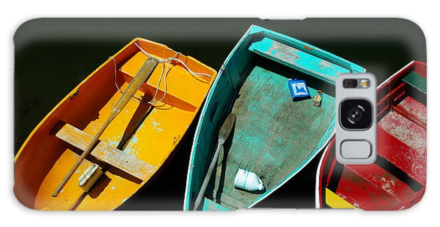 Landscape Nautical Row Boat New England Rockport Galaxy S8 Case featuring the photograph Dnre0603 by Henry Butz