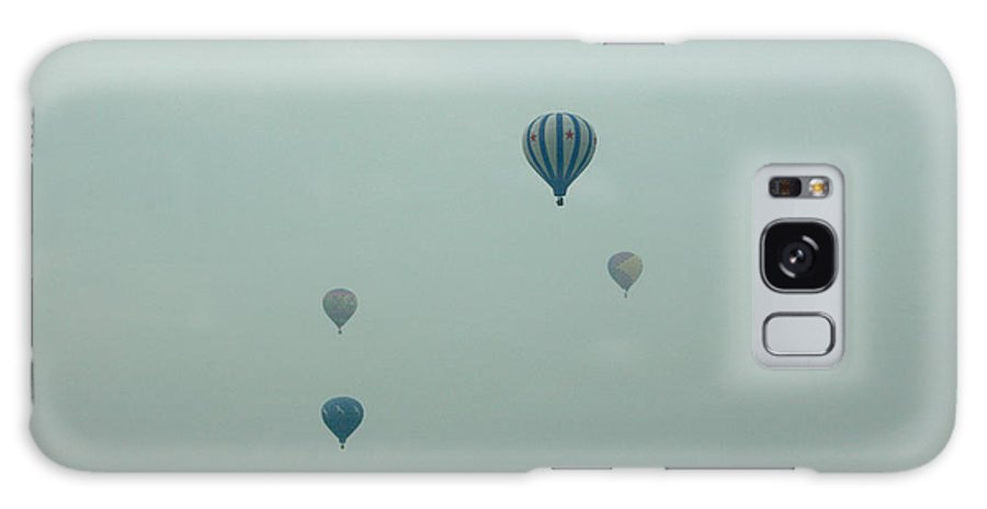 Adirondack Balloon Festival Mist Flight Galaxy Case featuring the photograph Dnrg0908 by Henry Butz