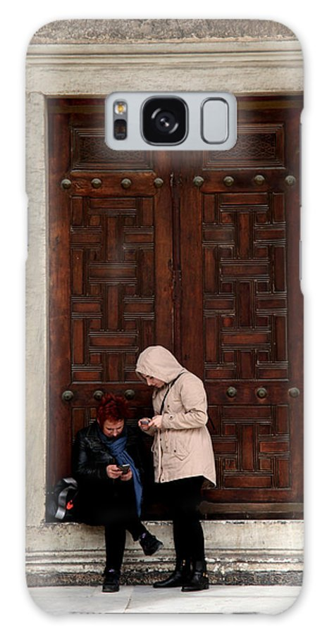 Istanbul Galaxy S8 Case featuring the photograph Do We Know Anything Yet Or Ever by Jez C Self
