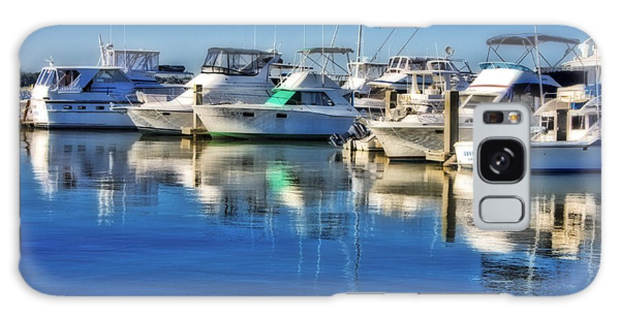 Boat Galaxy S8 Case featuring the photograph Dock O' The Bay by Ches Black