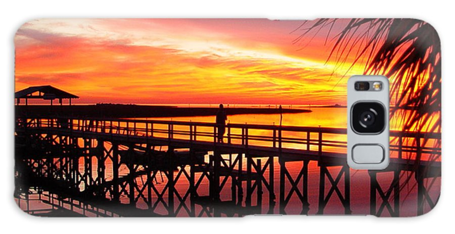 Palms Galaxy S8 Case featuring the photograph Docking It by Debbie May