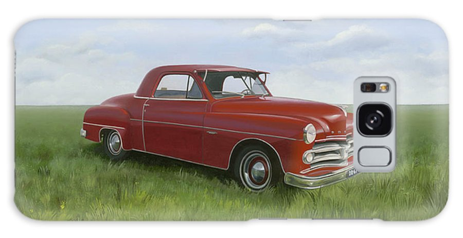 Classic Galaxy Case featuring the painting Dodge by Patricia Van Lubeck